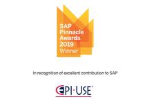 [EPI-USE Recebe o Prêmio SAP Pinnacle Award: Parceiro SAP SuccessFactors do Ano]