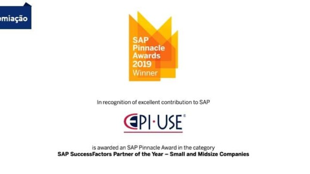 EPI-USE Recebe o Prêmio SAP Pinnacle Award: Parceiro SAP SuccessFactors do Ano