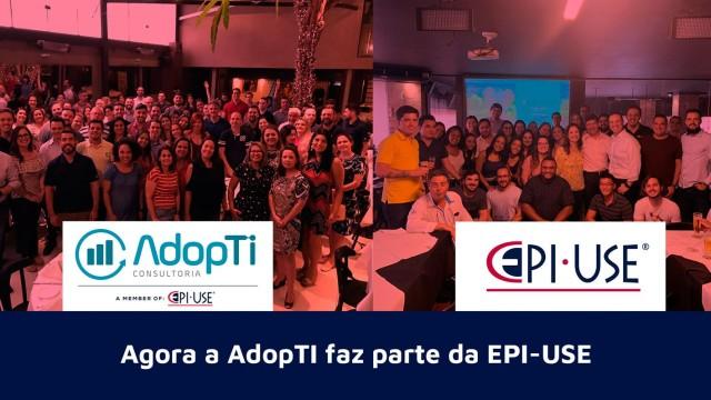 Agora a AdopTI faz parte da EPI-USE