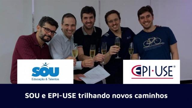 Agora o time de SAP SuccessFactors da SOU se integra à EPI-USE