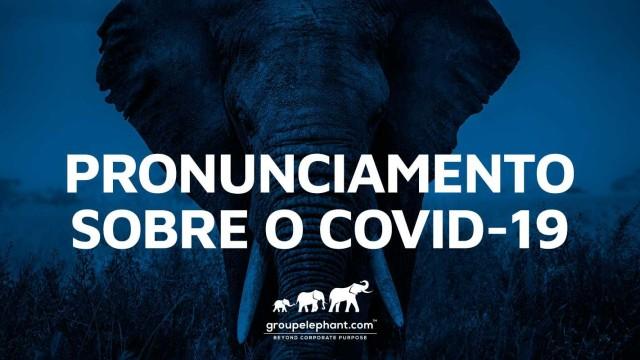 Pronunciamento do Group Elephant a respeito do COVID-19