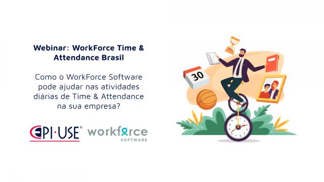 Conheça o poder do WorkForce Software Time & Attendance