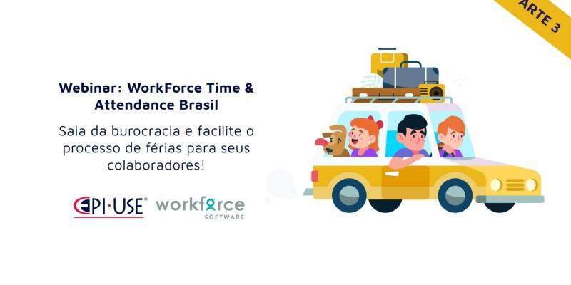 Saia da burocracia e facilite o processo de férias para seus colaboradores com o WorkForce Software Time & Attendance