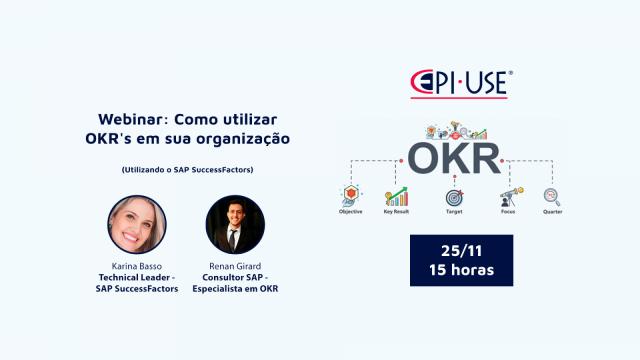 Webinar: Como utilizar OKR's em sua organização