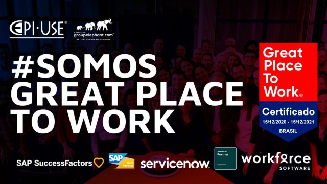 EPI-USE é GREAT PLACE TO WORK - GPTW