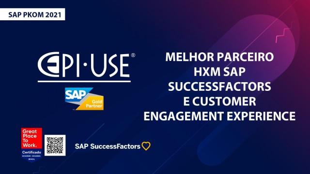 [PKOM 2021] Somos o melhor parceiro SAP SuccessFactors (HXM) e CE&X