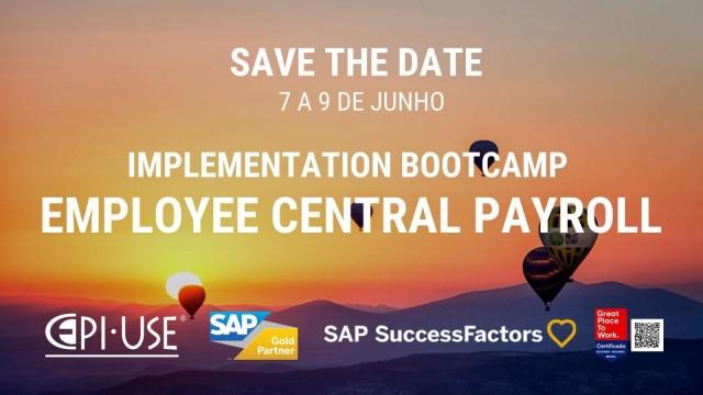 Employee Central Payroll - Implementation Bootcamp em junho 2021