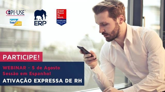 Participe Webinar EPI-USE: Ativação Expressa de Recursos Humanos