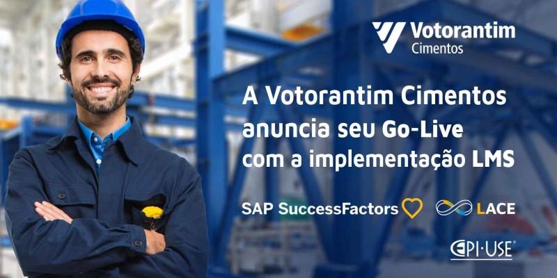 Go-Live Votorantim Cimentos do SAP SuccessFactors LMS