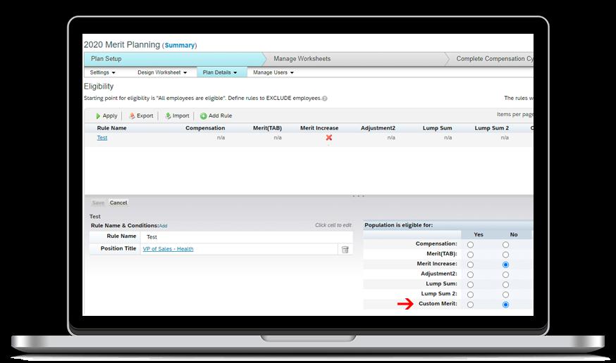 Destaques Release H2 2020 SAP SuccessFactors Compensation & Variable Pay